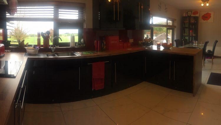kitchen, dining 360 degree