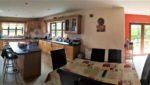 panorama kitchen dining