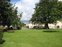 The stunning public green area of Clondulane